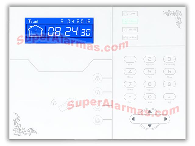 96a06b2e6a4 Alarma IP y GSM SafeMAX i20 con sensores inalámbricos y sin cuotas.