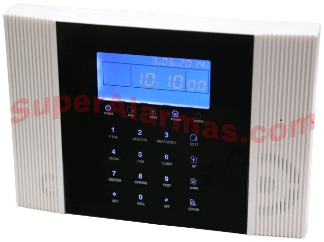 Panel central de la alarma híbrida SafeMax G8