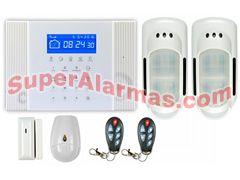 0013dc5e4fd Kit de alarma para exterior con dos sensores perimetrales